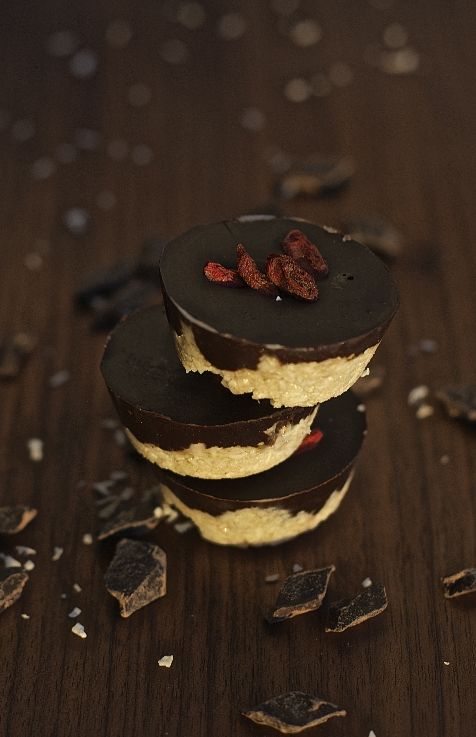chocolate covered coconut cups ~vegan, gluten free~