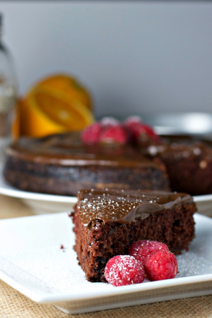 the easiest chocolate cake EVER with avocado frosting vegan