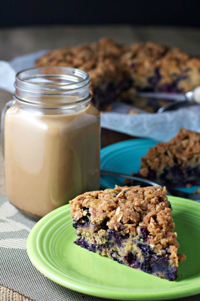 blueberry buckle ~vegan~ - BeginWithin Nutrition