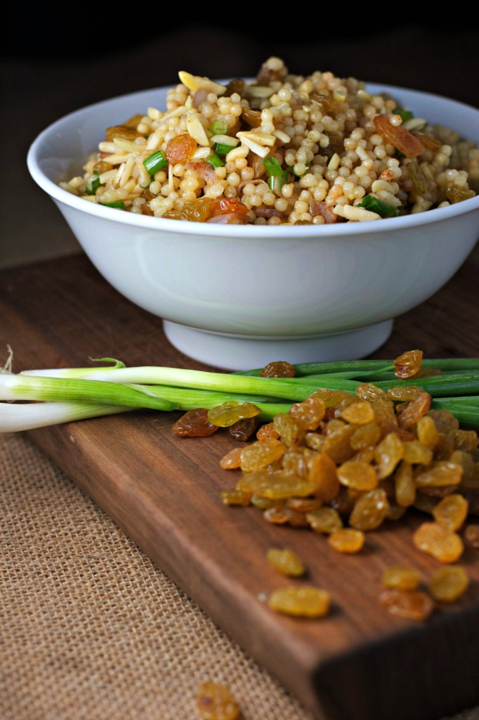 "Orange Scented Couscous with Golden Raisins ~ vegan~ A perfect ""quick meal"" for when hunger strikes!"