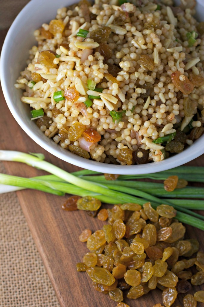 """Orange Scented Couscous with Golden Raisins ~ vegan~ A perfect """"quick meal"""" for when hunger strikes!"""
