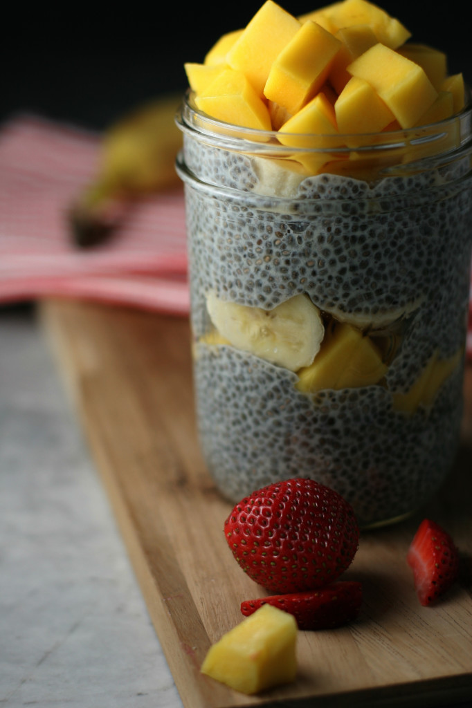 Chia Seed Breakfast Parfaits ~vegan, gluten free~ Loaded with calcium, protein and fiber!