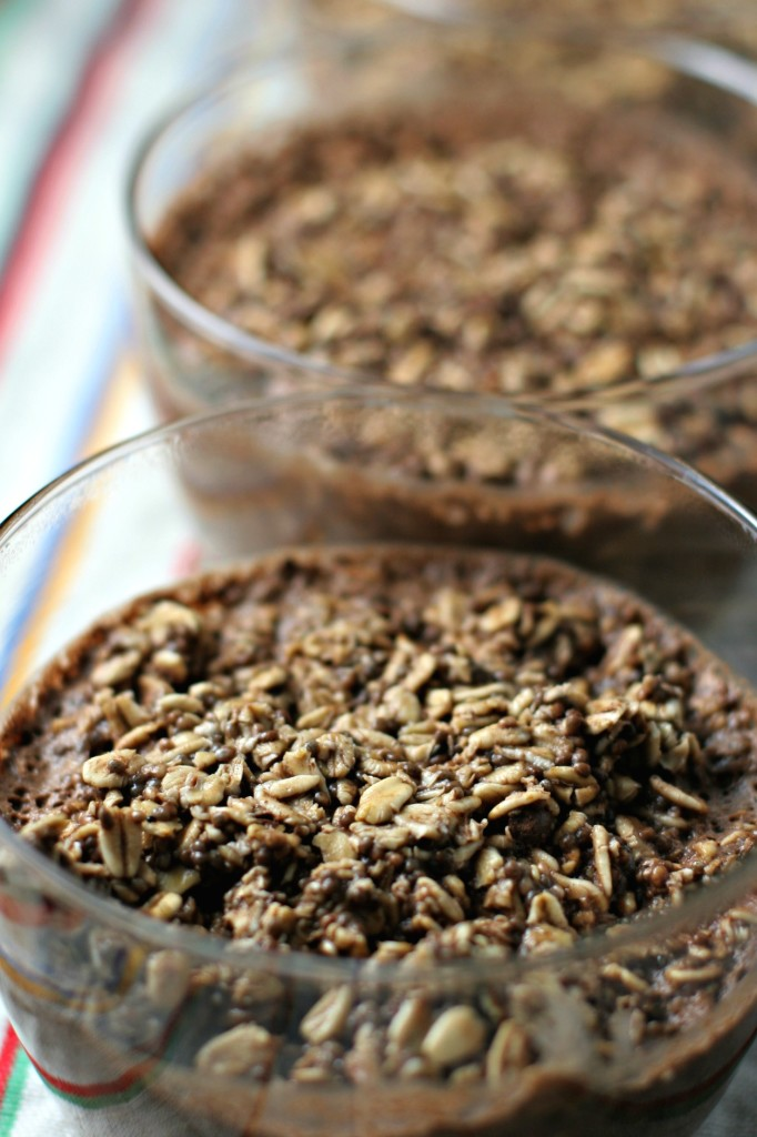 Chocolate Chia Overnight Oats ~vegan, gluten free~