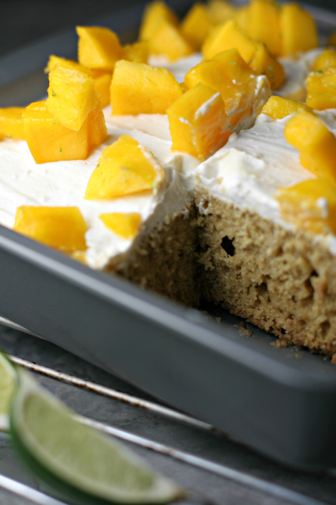 tres leches tres leches cake with mango mango coconut tres leches cake ...