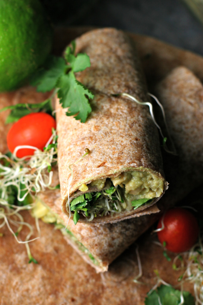 Southwestern Avocado Chickpea Smash Up ~vegan~