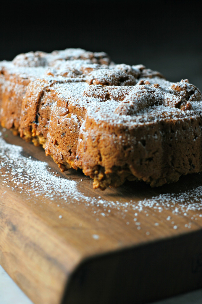 Carrot Pumpkin Bread, a two bowl healthy quick bread!