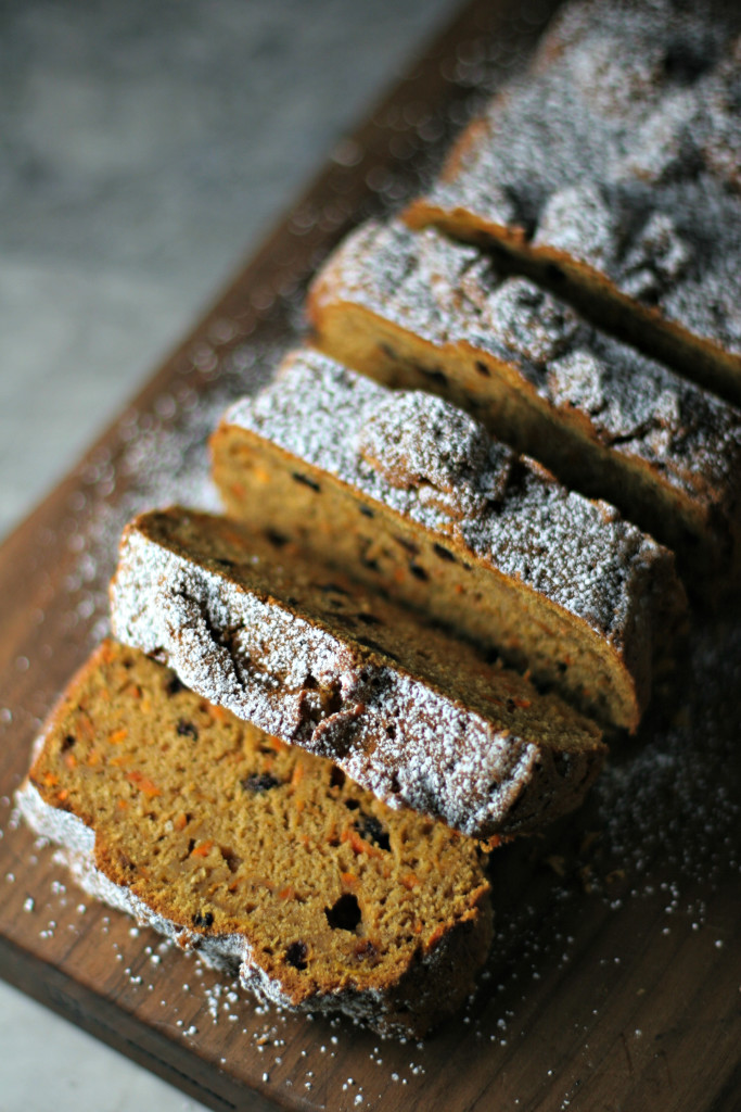 Carrot Pumpkin Bread ~vegan~ A two bowl healthy quick bread!